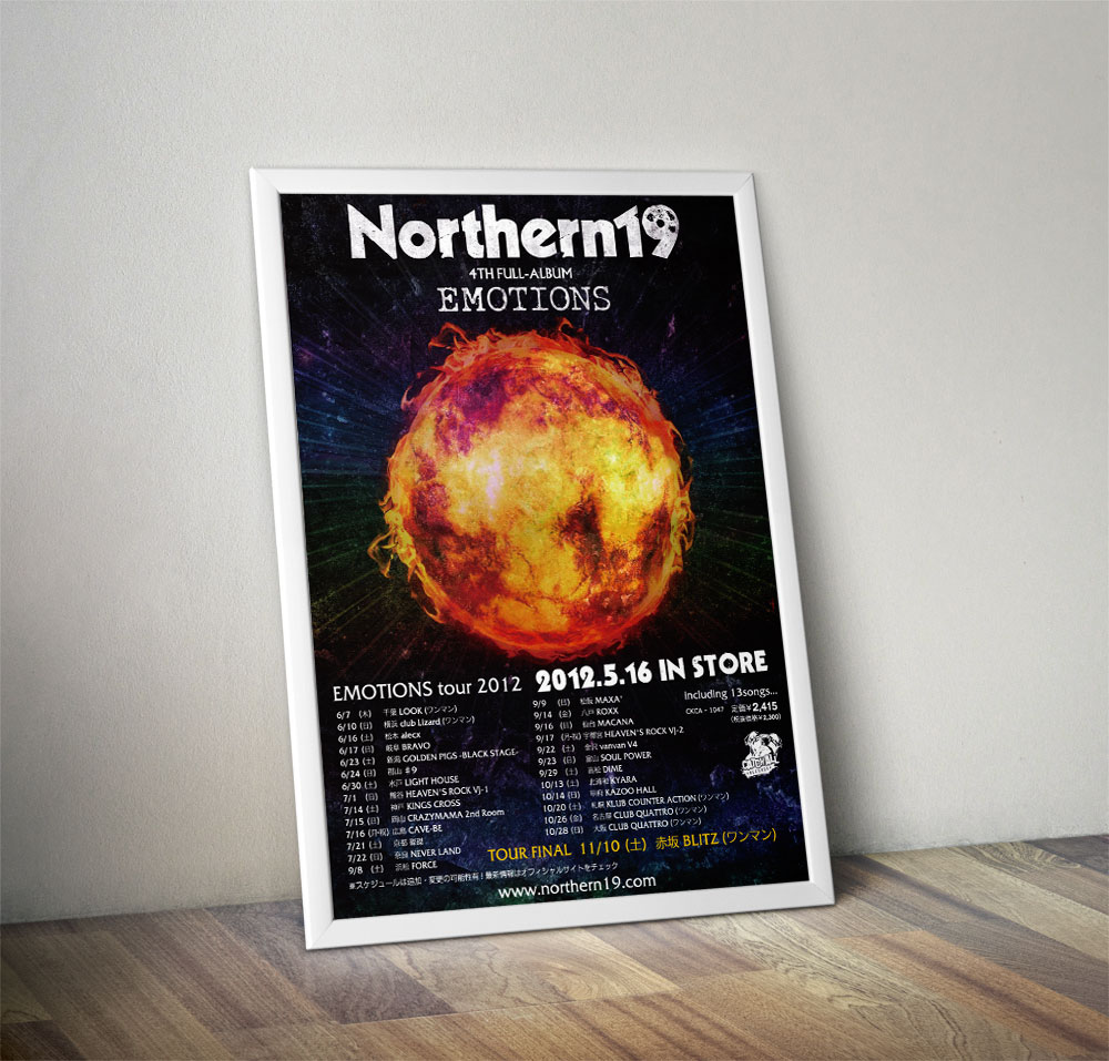 """Northern19 """"EMOTIONS"""" Poster"""