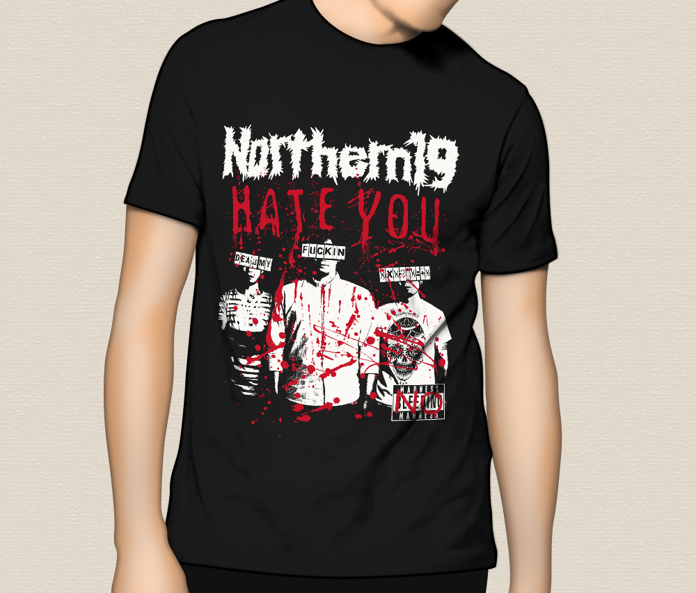"""Northern19 """"HATE YOU"""" T-Shirts"""