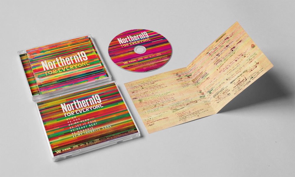 "Northern19 ""FOR EVERYONE"" CD"