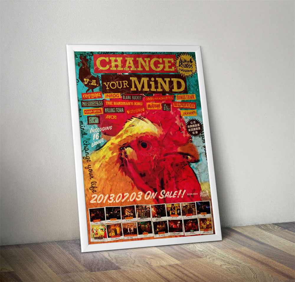 "V.A. ""VHANGE YOUR MiND"" Poster"