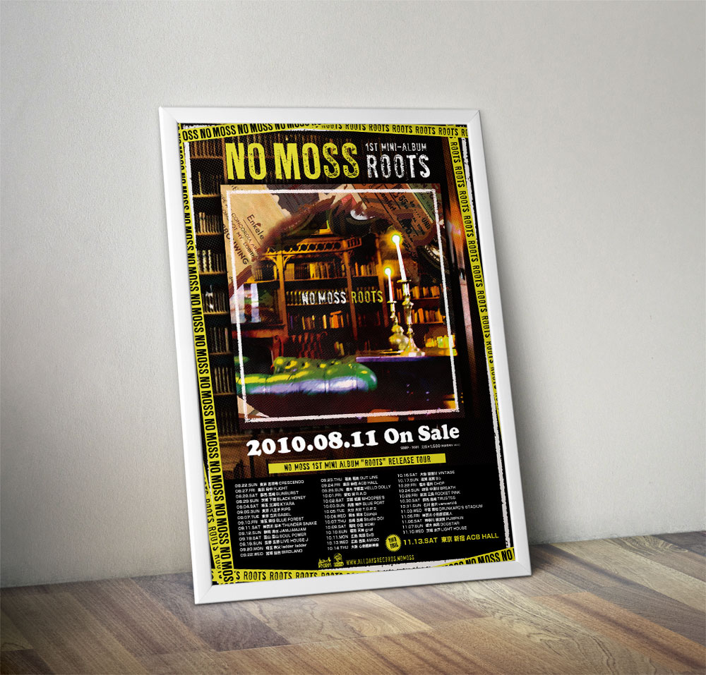 "NO MOSS ""ROOTS"" Poster"