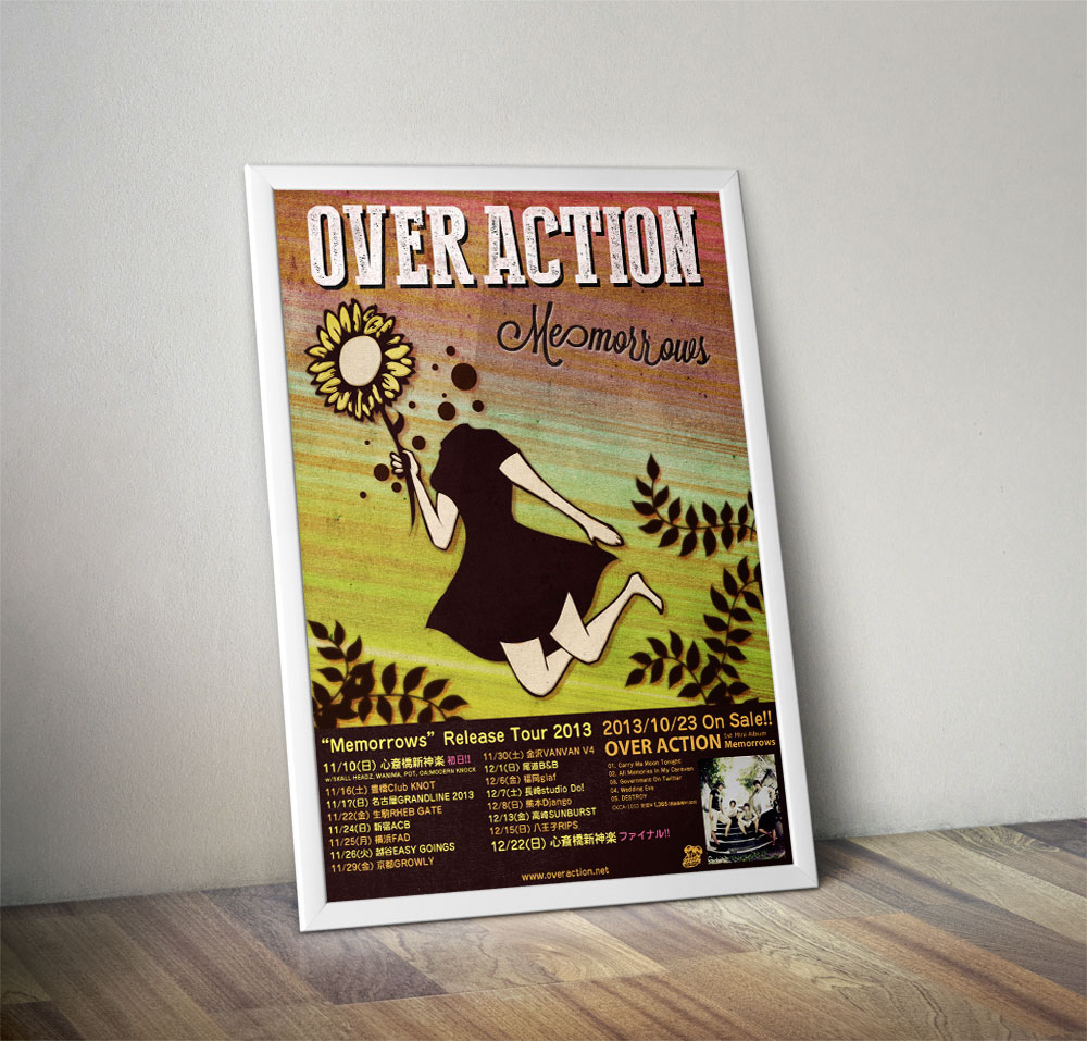 "OVER ACTION ""Memorrows"" Poster"