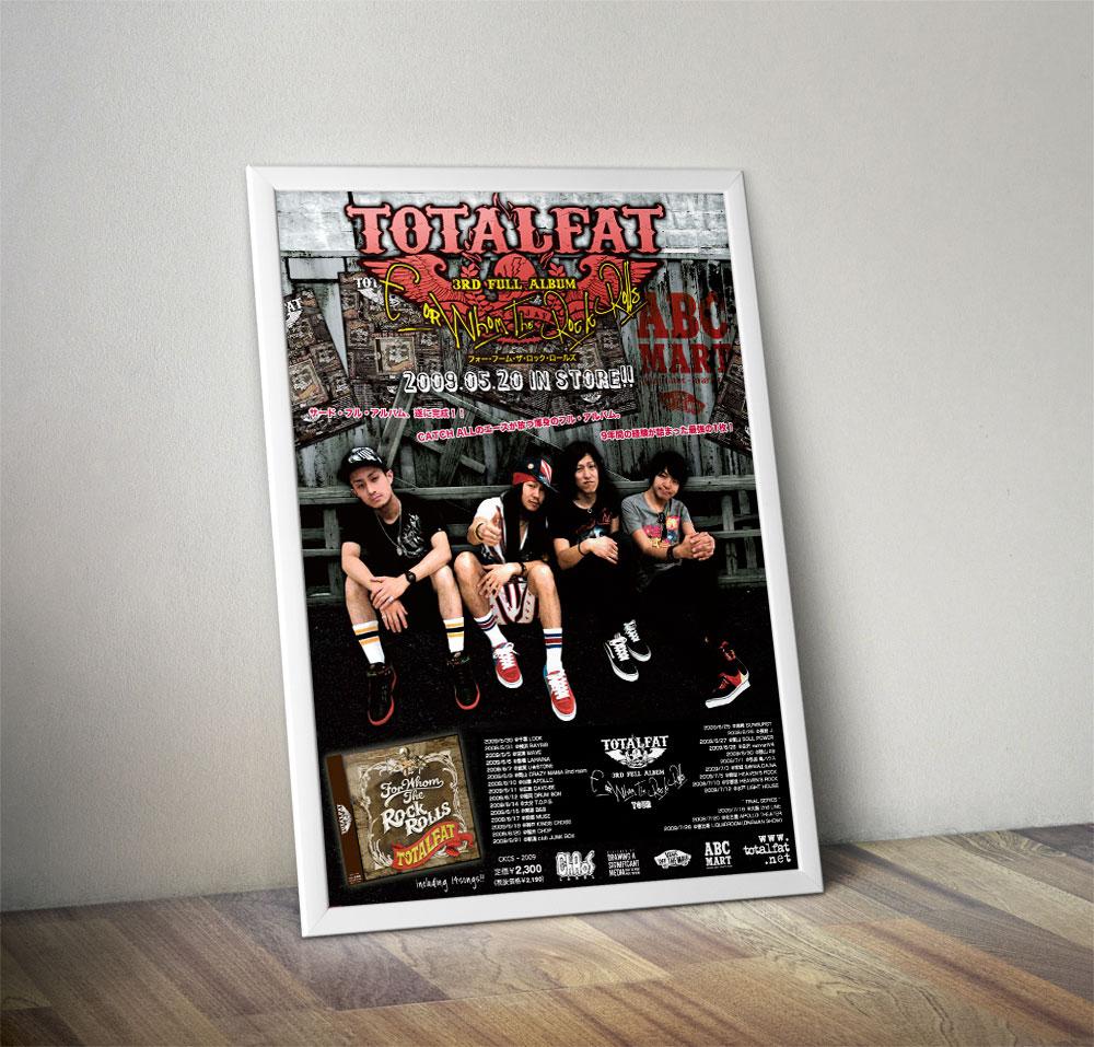 """TOTALFAT x ABC MART"" Poster"