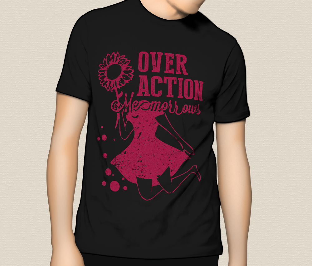 "OVER ACTION ""Memorrows"" T-Shirts"