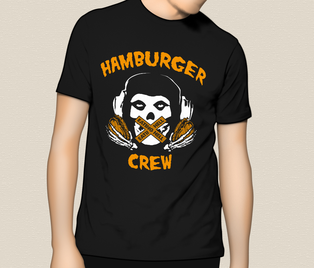 "HUMBURGER CREW ""EATING HELL"" T-Shirts"