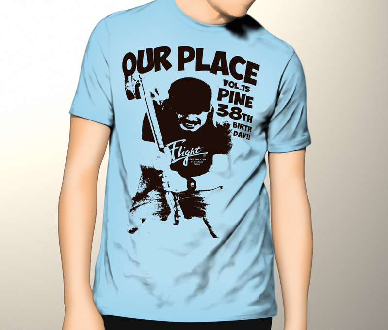 """OUR PLACE vol.15"" T-Shirts"