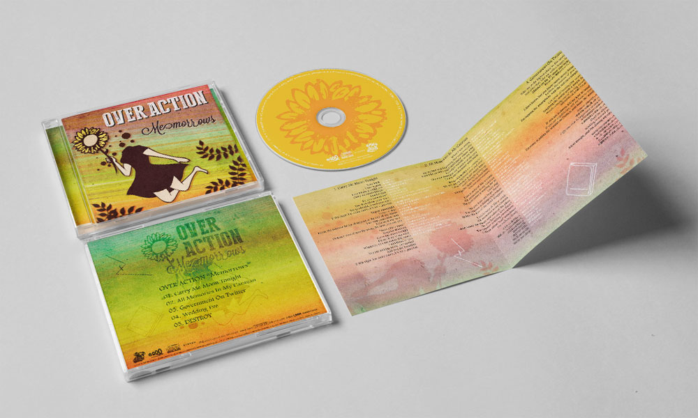 "OVER ACTION ""Memorrows"" CD"