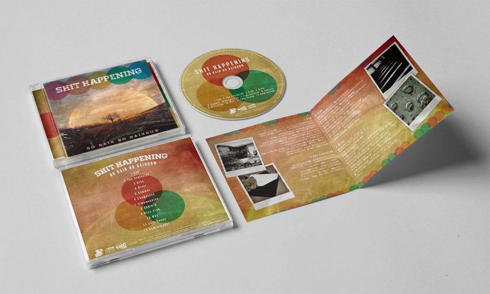"SHIT HAPPENING ""NO RAIN, NO RAINBOW"" CD"