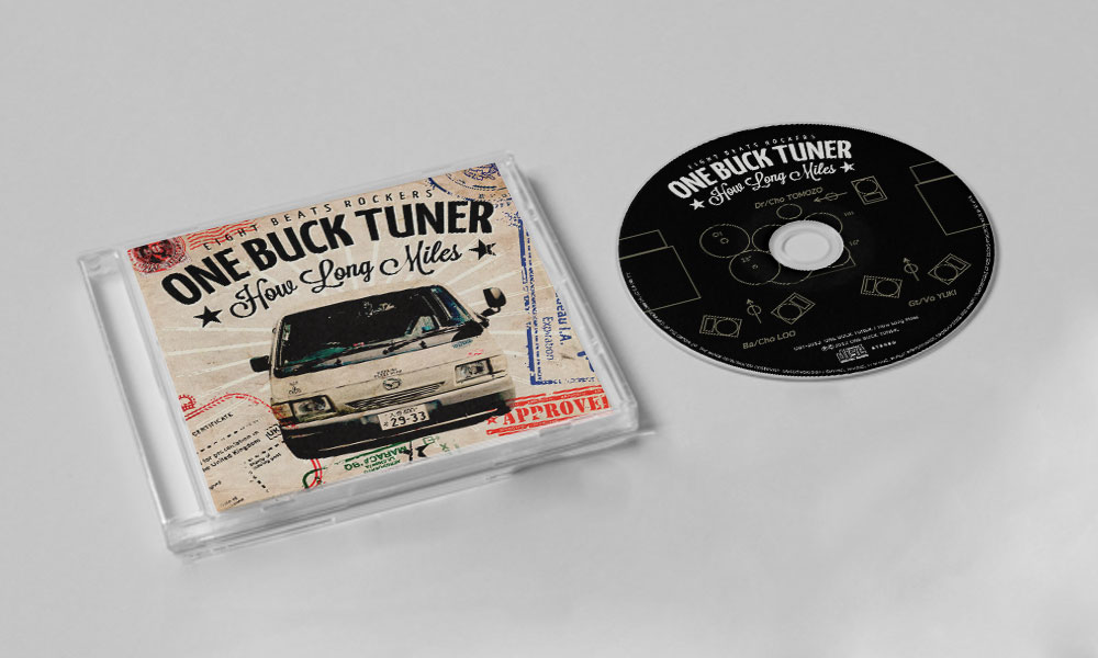 """ONE BUCK TUNER """"How Long Miles"""" CD"""