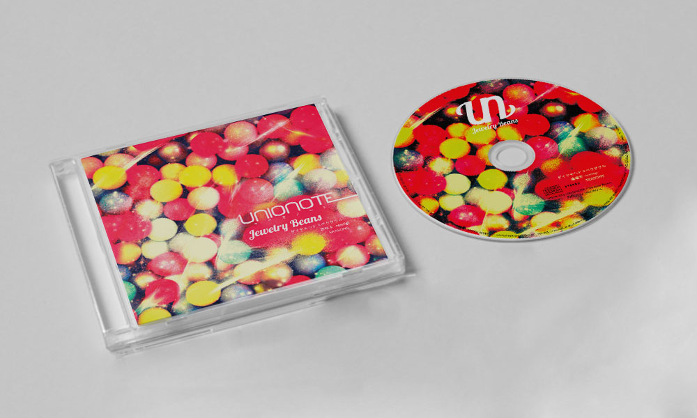 "UNIONOTE ""Jewelry Beans"" CD"