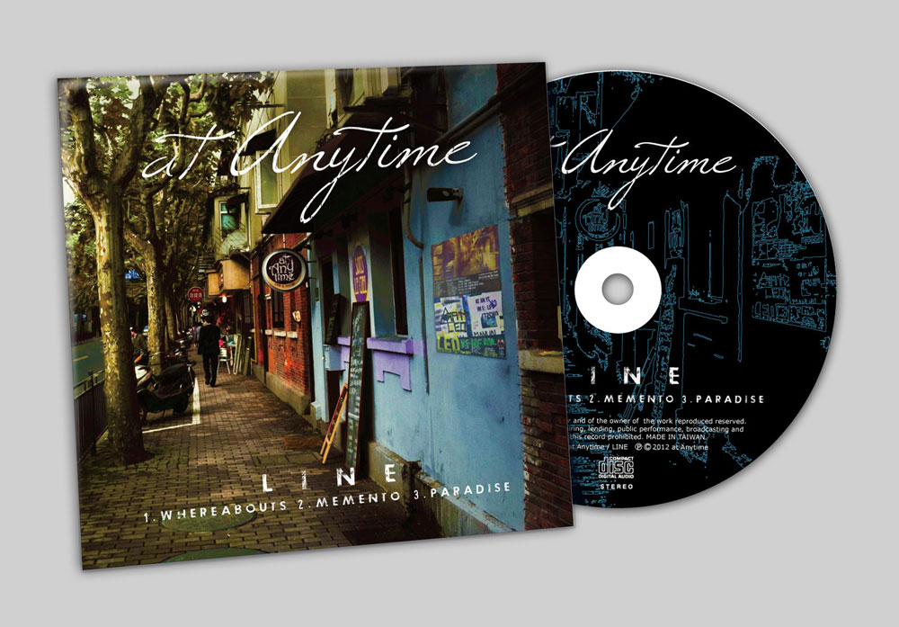 """at Anytime """"LINE"""" CD"""