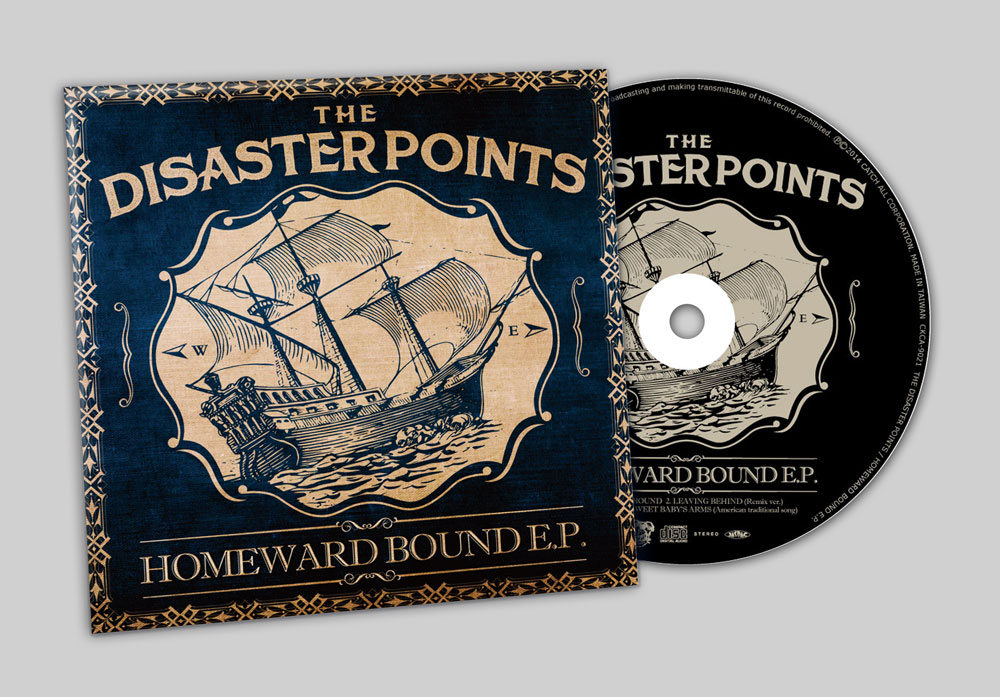 "THE DISASTER POINTS ""HOMEWORD BOUND E.P."" CD"
