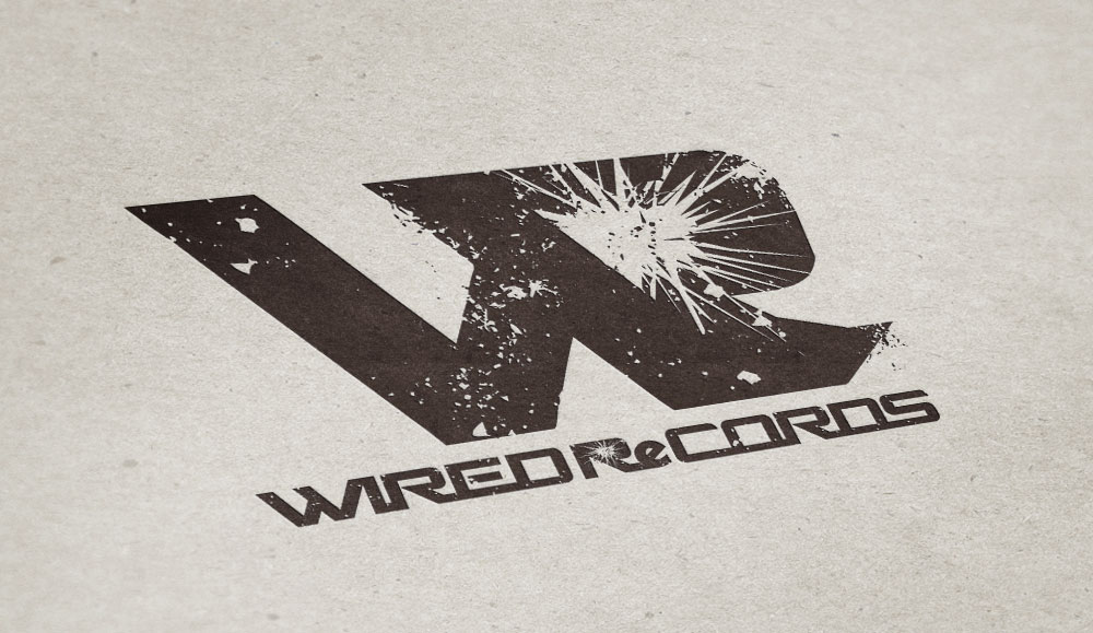 """WIRED ReCORDS"" Logo"