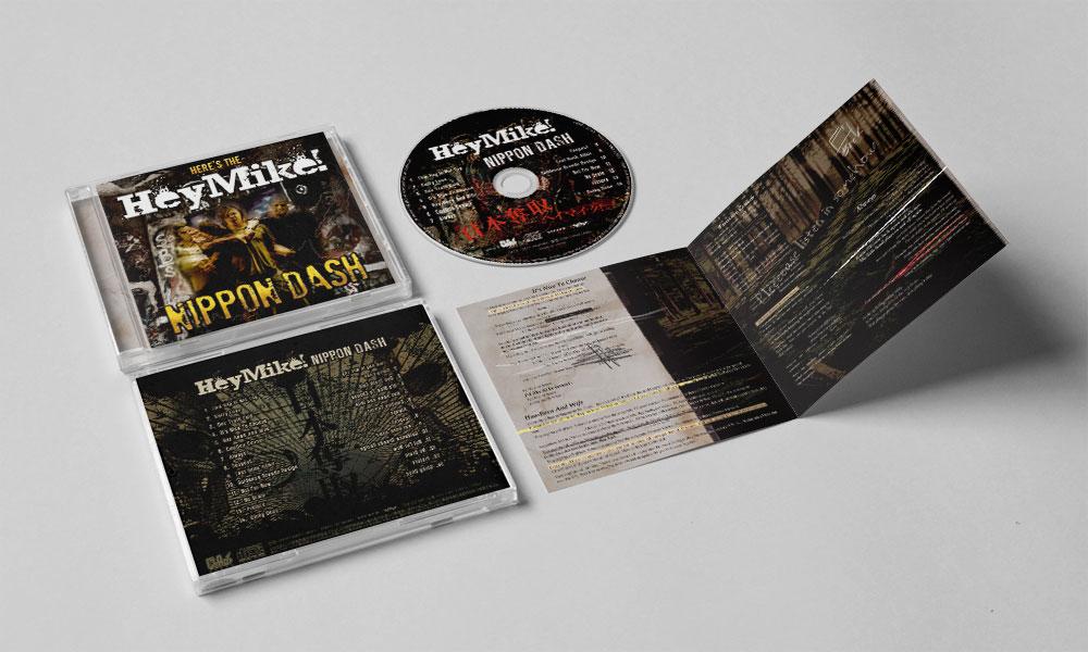 "HeyMike! ""NIPPON DASH"" CD"