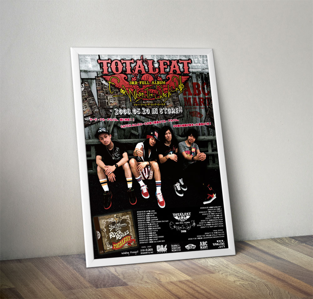 TOTALFAT x ABC MART Poster