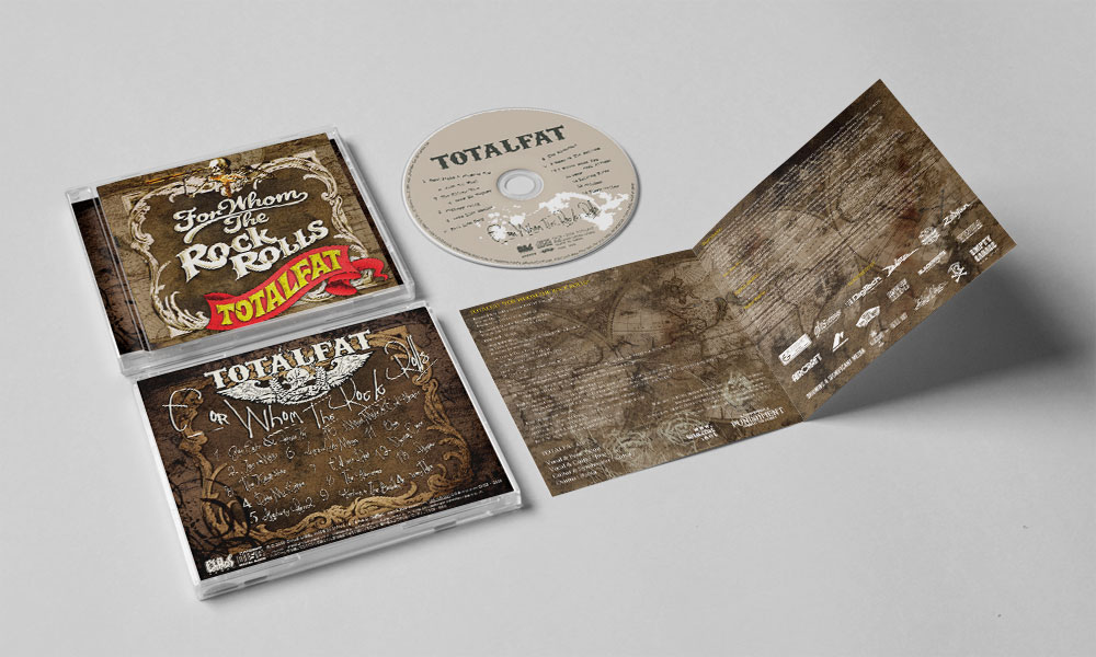 "TOTALFAT ""FOR WHOM THE ROCK ROLLS"" CD"
