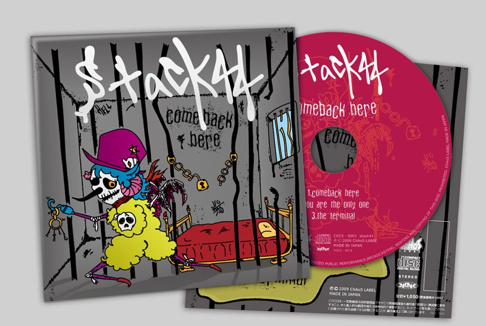 "stack44 ""comeback here"" CD"