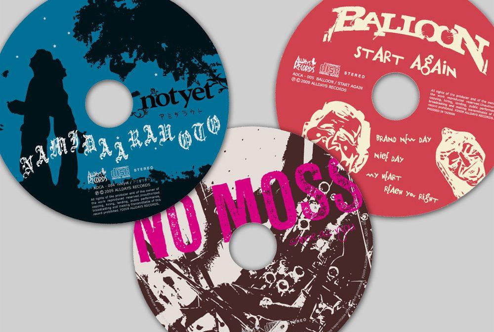 notyet, NO MOSS, BALLOON Single CD