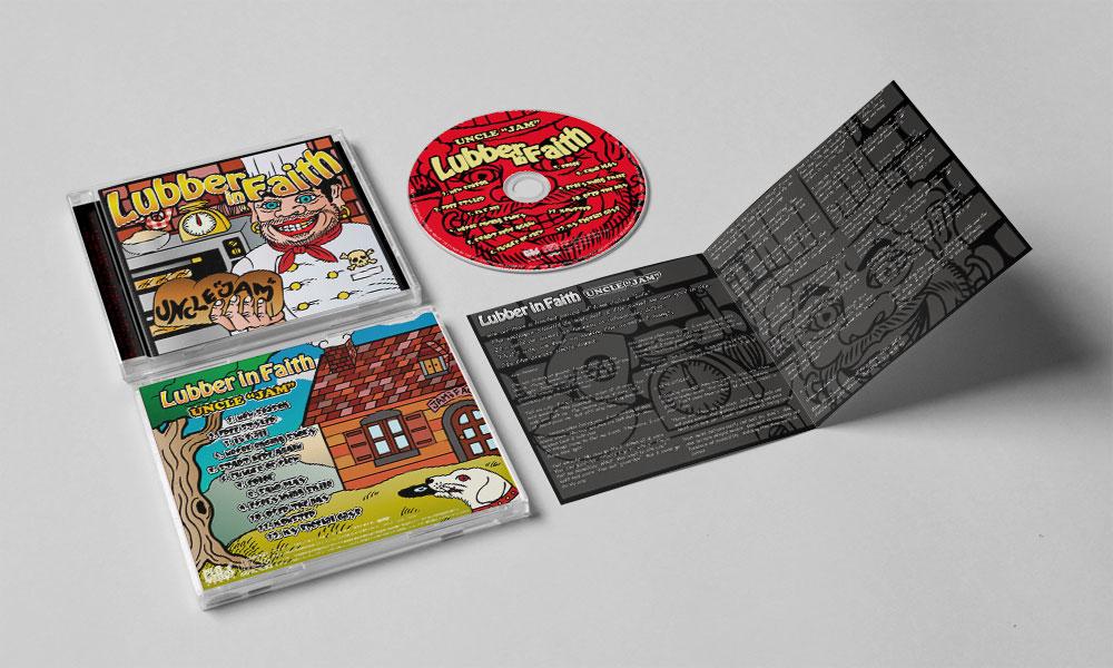 "Lubber in Faith ""UNCLE JAM"" CD"