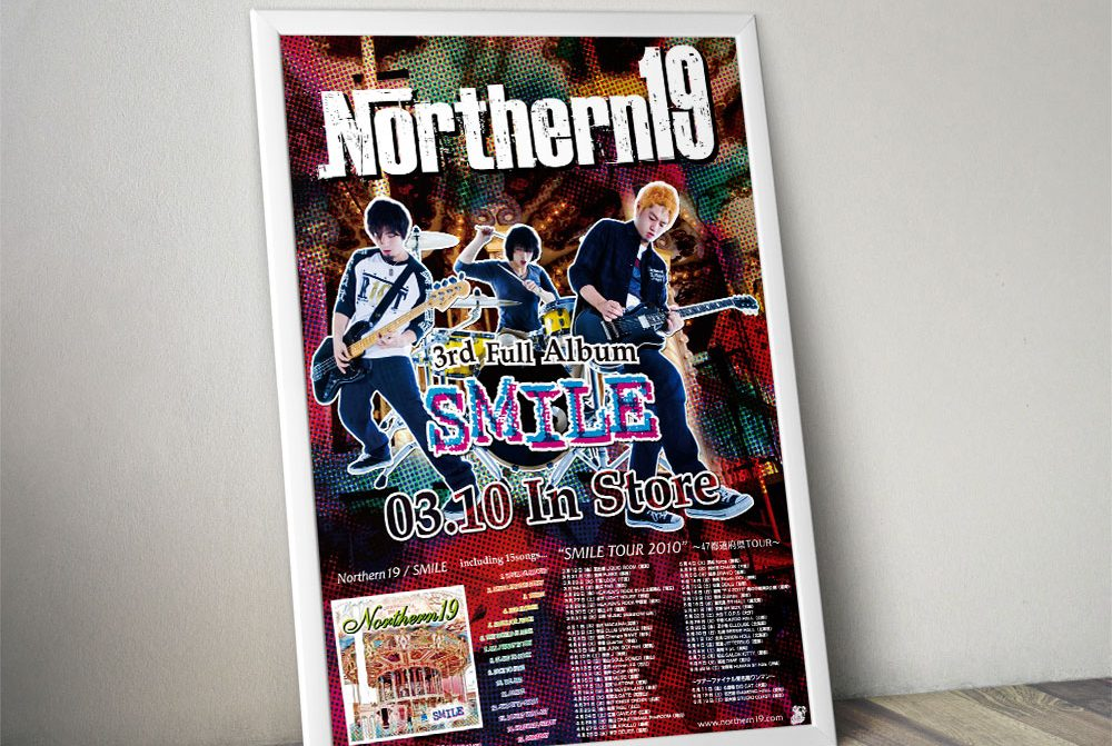 """Northern19 """"SMILE"""" Poster"""