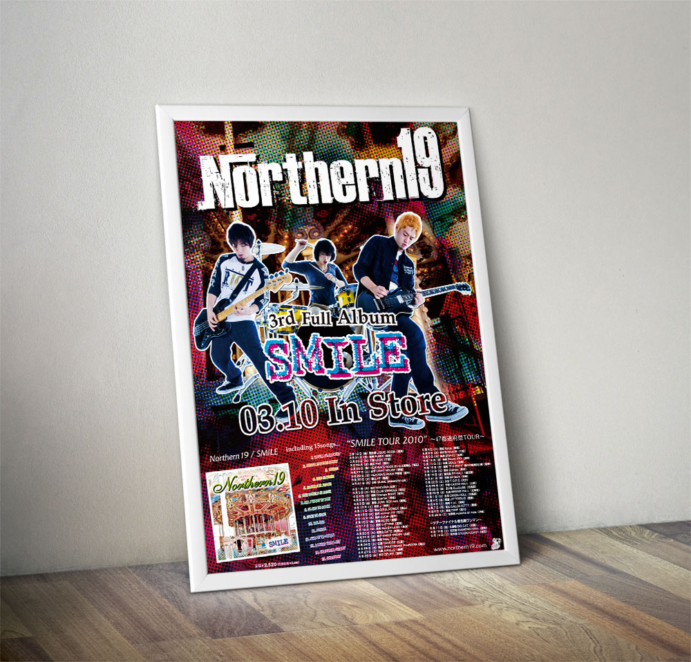 "Northern19 ""SMILE"" Poster"