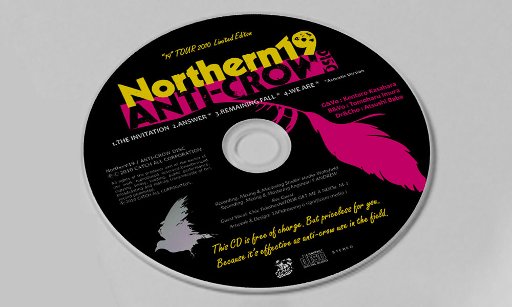 "Northern19 ""ANTI-CROW DISC"" CD"