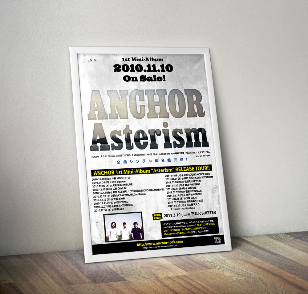 "ANCHOR ""Asterism"" Poster"