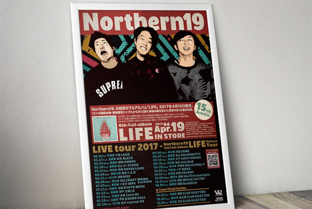 "Northern19 ""LIFE"" Poster"
