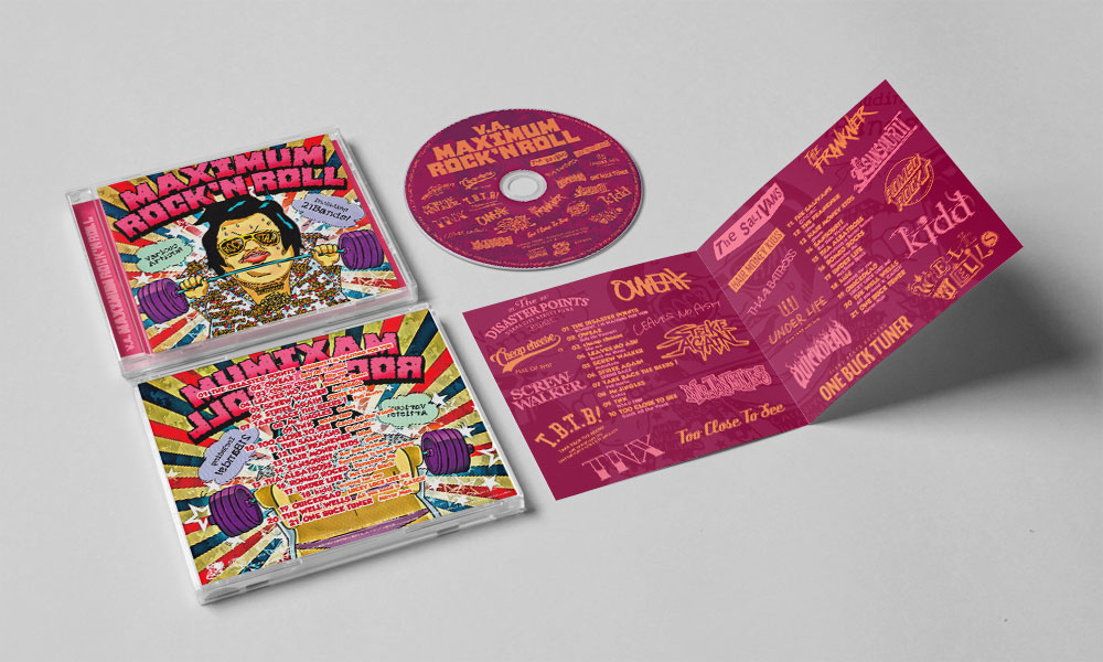 "V.A. ""MAXIMUM ROCK'N ROLL"" CD"