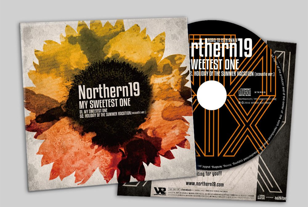 "Northern19 ""MY SWEETEST ONE"" CD"