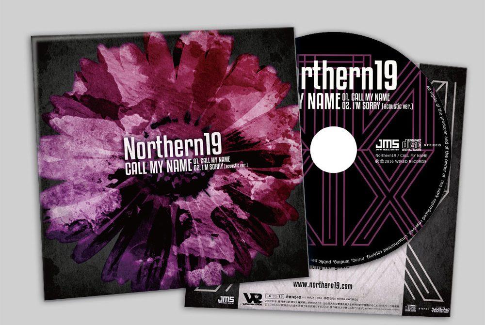 """Northern19 """"CALL MY NAME"""" CD"""