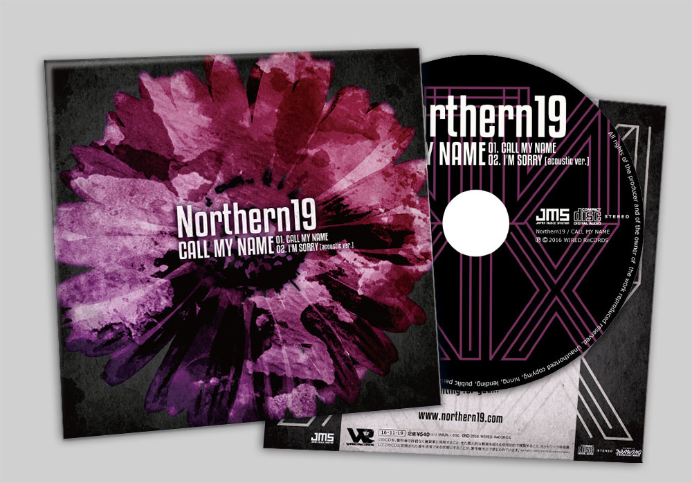 "Northern19 ""CALL MY NAME"" CD"