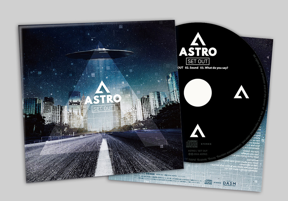 "ASTRO ""SET OUT"" CD"