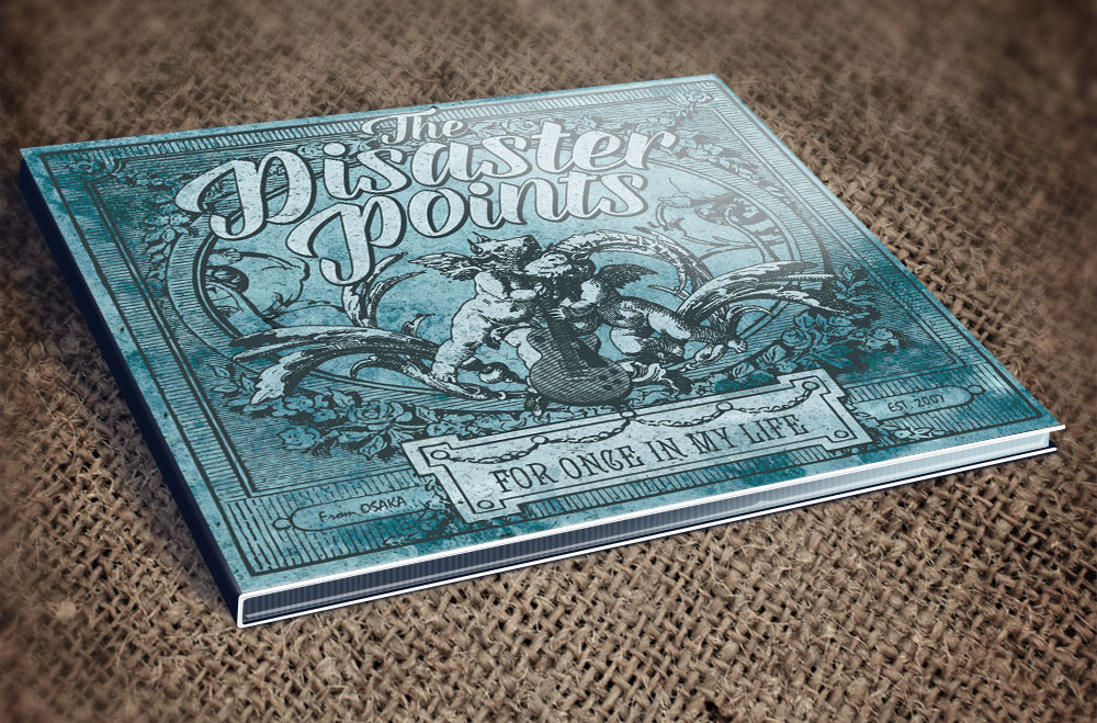 "The Disaster Points ""FOR ONCE IN MY LIFE"" CD"